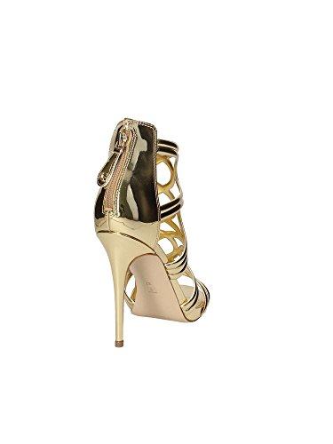 Sandalen hohem Guess LEL03 FLTE22 Absatz Frauen Gelb mit EyppTraSq