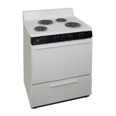 3.91 Cu. Ft. Electric Range Finish: (Electric Range Biscuit)