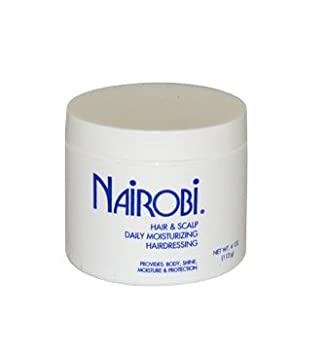 Nairobi Hair And Scalp Daily Moisturizing Hairdressing Unisex 4 Ounce Amazon In Beauty