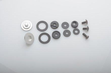 Bell 2020014 ~ SV (SE07) Pivot KIT & Screws Silver