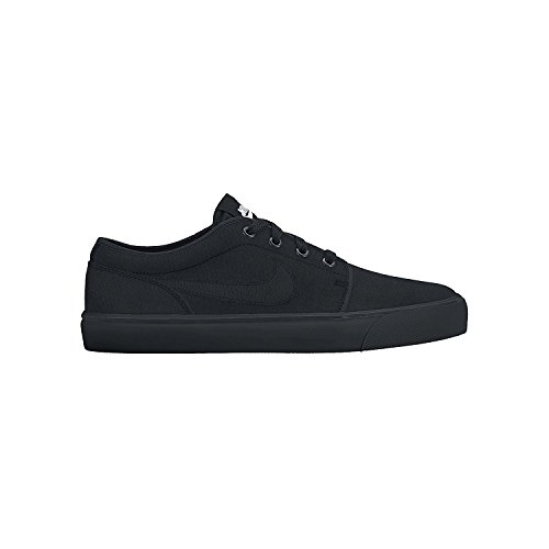 Nike Mens Toki Low Txt Casual Shoe, Negro/Negro/Negro, 38.5 D(M) EU/5.5 D(M) UK
