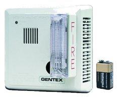 Gentex Remote Strobe - Gentex Smoke Detector with Flashing Strobe (Hard-Wired w/Battery Backup)