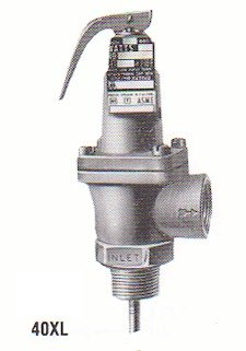 - Watts Regulator Temperature and Pressure Relief Valve 40XL-4, 1