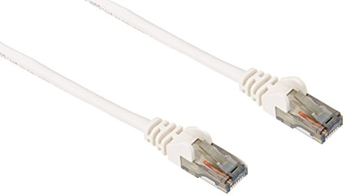 Belkin A3L980-50-WHT-S CAT6 Snagless Patch Cable  RJ45M/RJ45M; 50 White - White Belkin Components