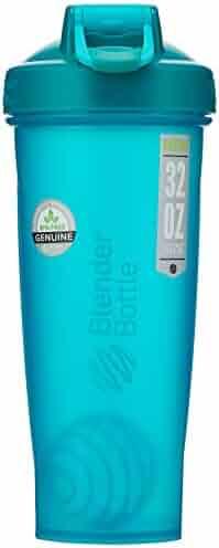 BlenderBottle Classic Loop Top Shaker Bottle, 20-Ounce, Teal/Teal