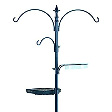 Gardman BA01131 Premium Bird Feeding Station Kit, 21  Wide x 90  High (73  above ground height)