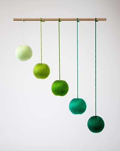 - Montessori inspired mobiles - Green Gobbi