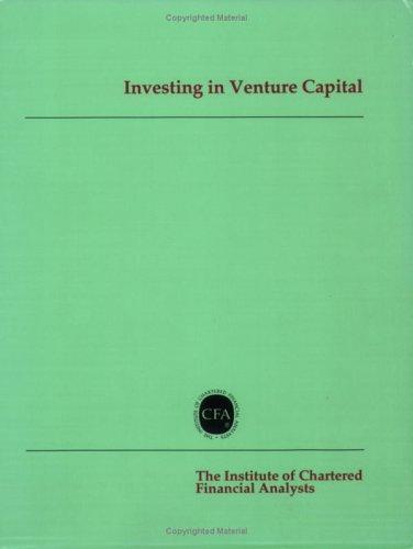 Investing in Venture Capital