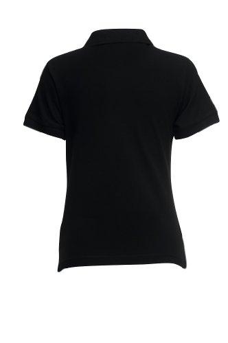 Fruit of the Loom Classic Poloshirt XXL,Black