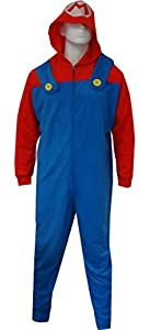 MJC International Men's Super Mario Bros Union Suit