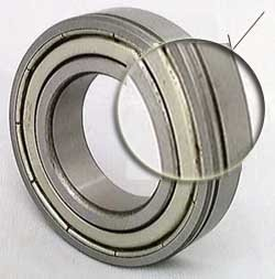 VXB Brand 6006ZZN Shielded Bearing with snap ring groove 30x55x13 Type: Deep groove ball bearing with snap ring groove + a snap rin Material: Chrome Steel Brand: VXB