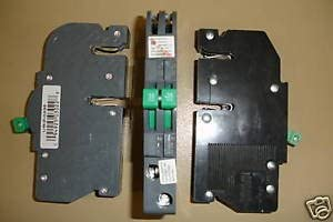 Zinsco 2 pole 15 amp Breakers.
