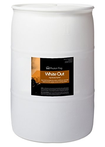 (White Out Fog Fluid - 55 Gallon Drum)