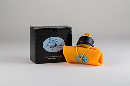 Aquabean Silicone Peri Bottle/Portable Bidet/Portable Lota - Yellow by AQUABEAN