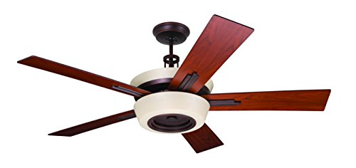 Emerson Ceiling Fans CF995VNB Laclede Eco Indoor Ceiling Fan With Remote, 62-Inch Blades, Venetian Bronze - Bowl Light Customizable Fixture