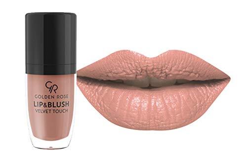 Cream Blusher - Golden Rose Lipstick Blush, Matte Lipgloss and Blusher 05