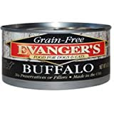 Cheap Evanger'S Super Premium 100% Buffalo For Dogs, Case Of 24