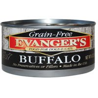 Evanger's Super Premium 100% Buffalo for Dogs, Case of 24, My Pet Supplies
