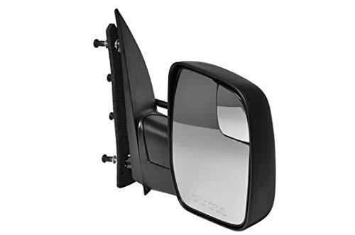 Passenger Side Textured Side View Mirror for 2010-2014 Ford E-150 E-250 E-350 E-450 Super ()