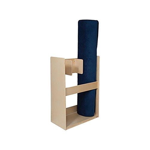 Wood Designs Kids Play Floor Mat Organizer Wd16330 (3) Rug Holder 49''H X 34''W X 18''D by Wood Designs
