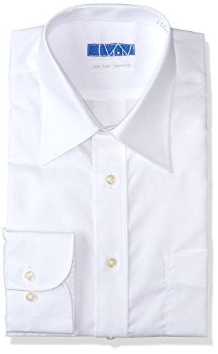 DRESSCODE101 Dress Shirts Men Long Sleeve 100% Cotton Non Iron Japanese Products