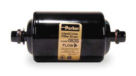 Parker Hannifin 083S Gold Label Steel Liquid Line Filter-Drier, 3/8