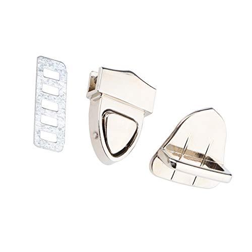 Make Security Wallet Silver Bag Wallet B Chiusura lucchetto To con Triangle Bandoelra Bag Baosity con fibbia wqTqFB