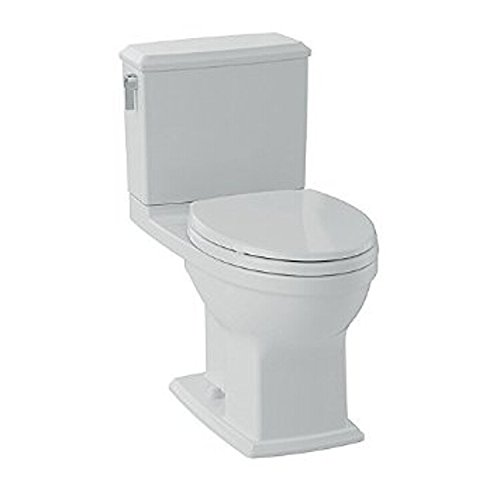 TOTO CST494CEMFG#03 Contemporary/Modern Connelly Toilet 1.28 GPF/0.9 GPF, Bone, 2-Piece ()