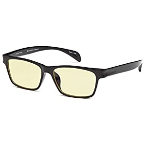 GAMMA RAY 003 Anti UV Glare Harmful Blue Light Computer Glasses w Readers - 1.00 Magnification