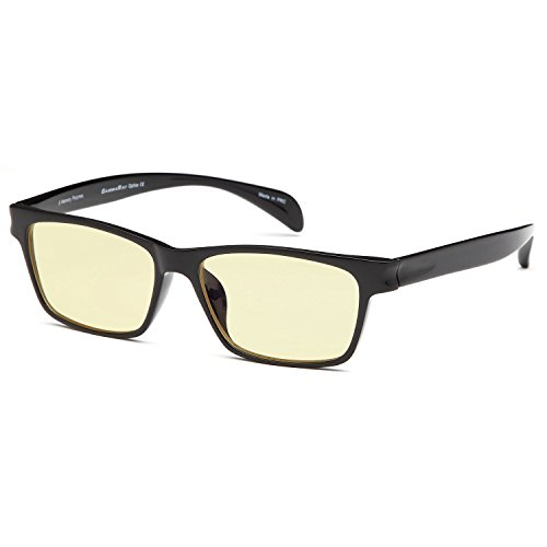 GAMMA RAY FLEXLITE GR OR-003 Computer Readers Glasses in Shatterproof Memory Flex Frame Anti Harmful Glare, UV and Blue Rays - Magnification 0.00
