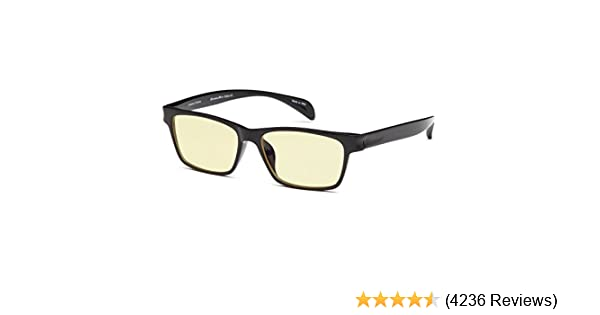 aa60cce01d9 Amazon.com  GAMMA RAY 003 Anti UV Glare Harmful Blue Light Computer Glasses  Readers - Choose Your Magnification  Clothing