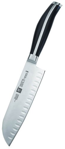 Zwilling J.A. Henckels Twin Cuisine 7-Inch Hollow-Edge Santoku - Ja Henckels Twin Cuisine