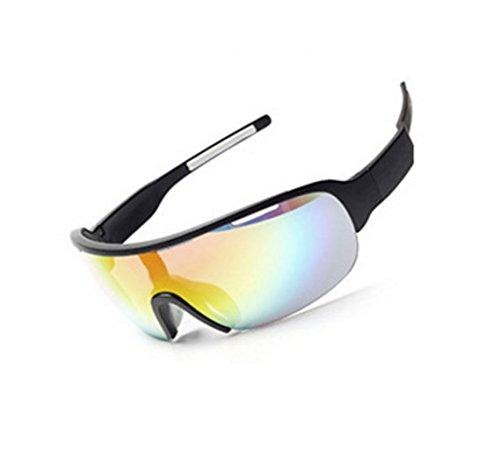 al Libre a y Viento PC Prueba Gafas de Viento a Deportes NEGRO explosiones de Prueba Aire Ciclismo qzEE7PwI