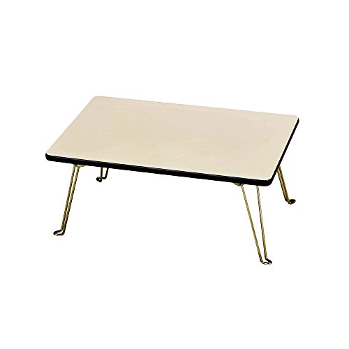 ORE International N1563-WH Low Profile Folding Table by ORE