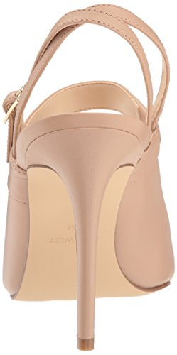 Nine West Women's Tabbae Leather Sandal Light Natural Leather jcZJec5IE2