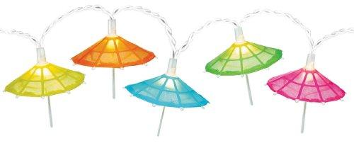 Amscan Parasol Patio String Lights, 9-Feet
