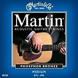 Martin Acoustic Phosphor Bronze Guitar Strings - Medium M550