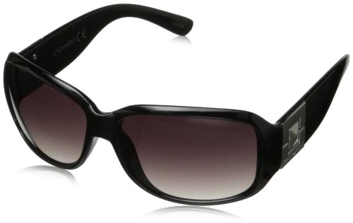 Rocawear R3165 Rectangular Sunglasses,Black,57 - Rocawear Eyeglasses