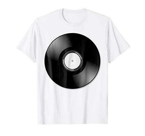 Vinyl Record Halloween Costume T-Shirt Retro Music -
