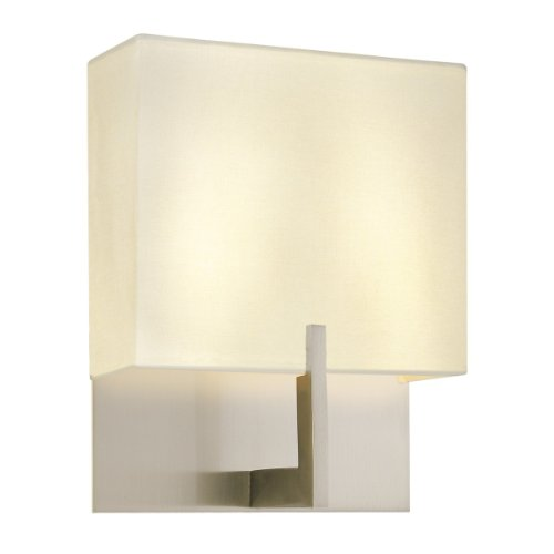 Sonneman 4430.13, Staffa Tall Wall Sconce Lighting, 2 Light, Satin (Sonneman Wall Lighting)