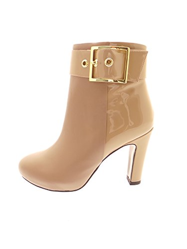 Luciano Barachini - Botas para mujer Beige