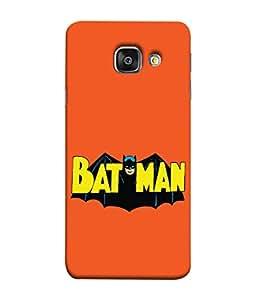 ColorKing Samsung A7 2016 Case Shell Cover - Batman Multi Color