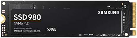 Samsung (MZ-V8V500B/AM) 980 SSD 500GB - M.2 NVMe Interface Internal Solid State Drive with V-NAND Technology
