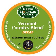 (Green Mountain Vermont Country Blend Decaf 48 K-Cups for Keurig Brewers)
