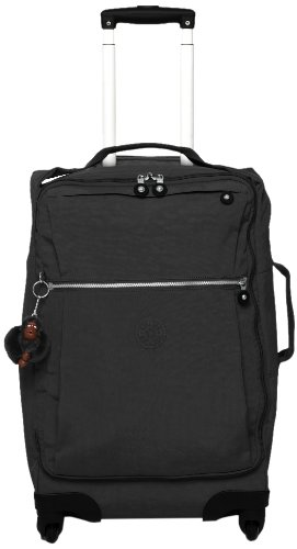 Amazon.com | Kipling Darcey Solid Small Wheeled Luggage, Black ...