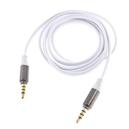 eDealMax MP3 adaptador Macho a Macho DE 3,5 mm Jack estéreo Cable de extensión