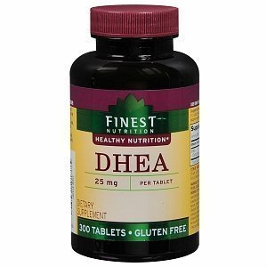 Finest Nutrition DHEA 25mg Tablets 300 ea by sallyashop