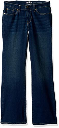 Signature by Levi Strauss & Co. Gold Label Women's Curvy Bootcut Jeans, Rev Up, 20 Long