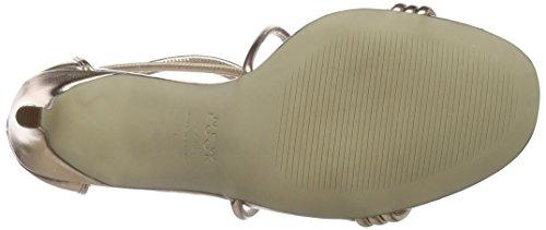 Signal Look metallo Scarpe 94 Bronzo Caviglia Cinturino New Alla Donna Con qASx5