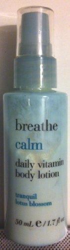 Bath & Body Works Breathe Calm Tranquil Lotus Blossom Dai...